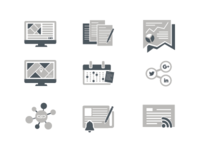 Inbond Marketing Icons