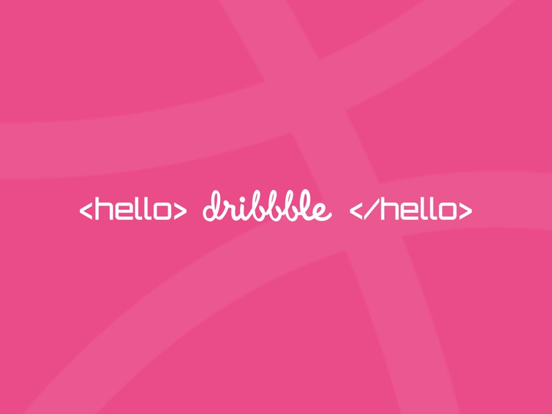 Hello Dribbble, I'm Soroush!