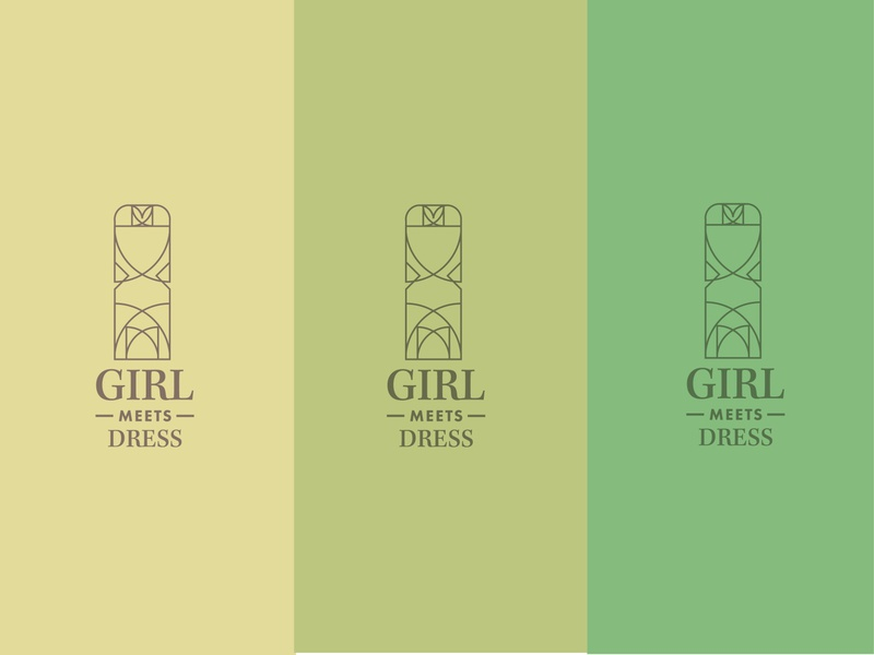 Girl meets dress logo