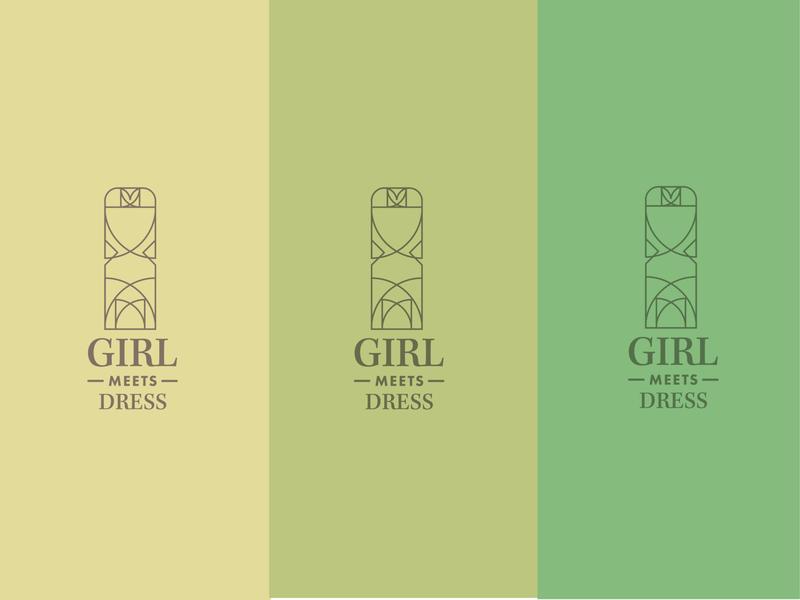 Girl meets dress logo