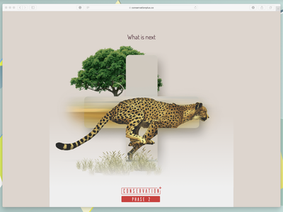 Landing Page #2 ui web interace clean site clean page charity zoo plus wildlife one page design one page site