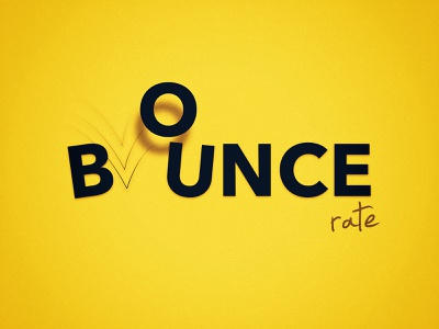 Artwork for an article I wrote article branding yellow bounce artwork logo
