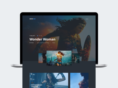 Movie Hub - Wonder Woman