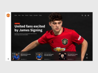 Front page - Man Utd Concept