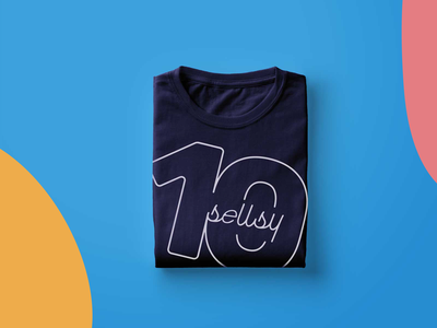 Sellsy Anniversary identity logo lettering icons typography art illustrator brand illustration sweat clothes design minimal 100 anniversary branding
