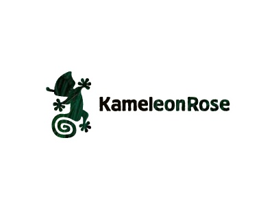 Kameleon Rose traveling africa adapt clothing madagascar logo rose kameleon