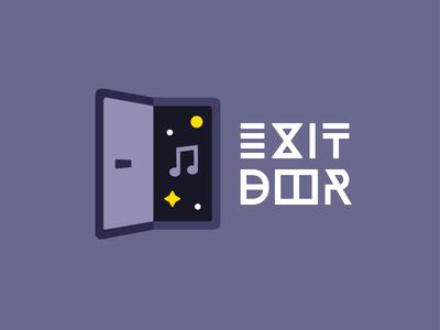 Logo Exit Door - Music and Video