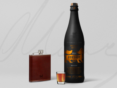 Foxshot Rum Bottle shot