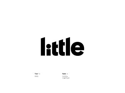 little design logotype lettering logo