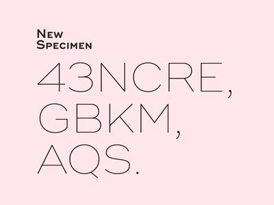 S**** Sans #4 typeface design font type typography