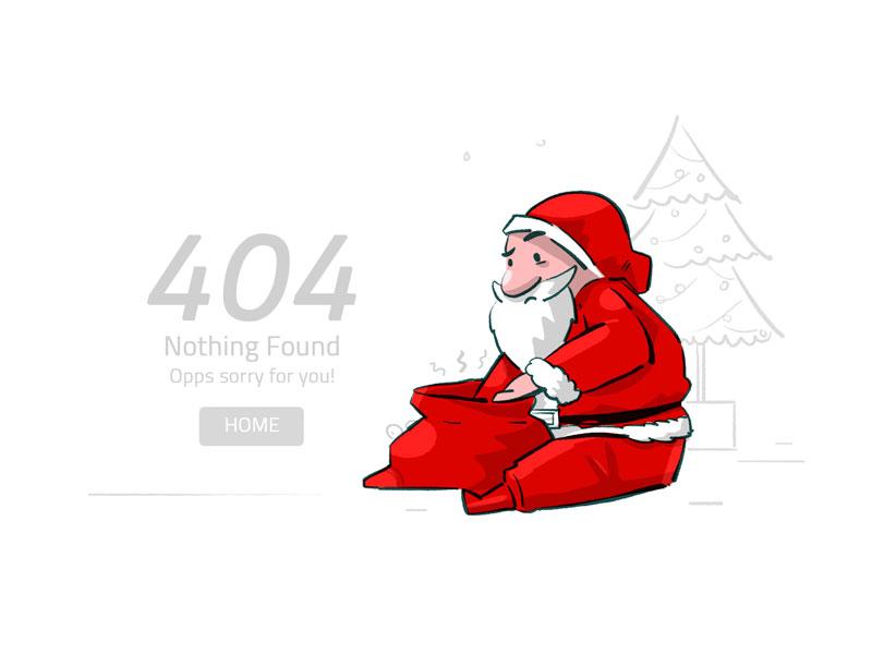 404 error page deisgn example #114: 404 page