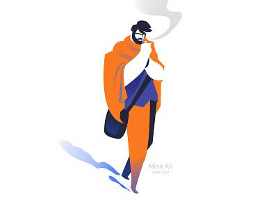 Misir Ali characterdesign art cartoon flat concept illustration