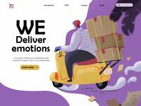Delivery (Concept illustration)