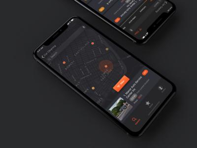 Car Repair & Service Mobile App Concept
