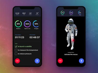 Space iOS App Concept
