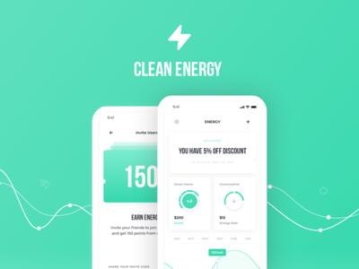 Behance Case Study / Smart Energy Concept