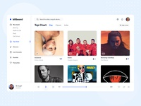 Billboard Music Streaming Application