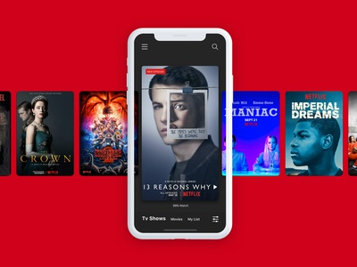 Netflix Concept App