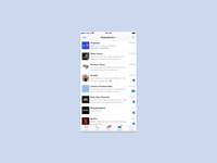 Telegram Messenger for iOS – Feed