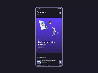 Design Courses App