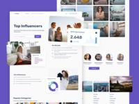 Social Blogger Platform Landing Page