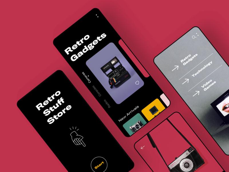 Retro Stuff Store App