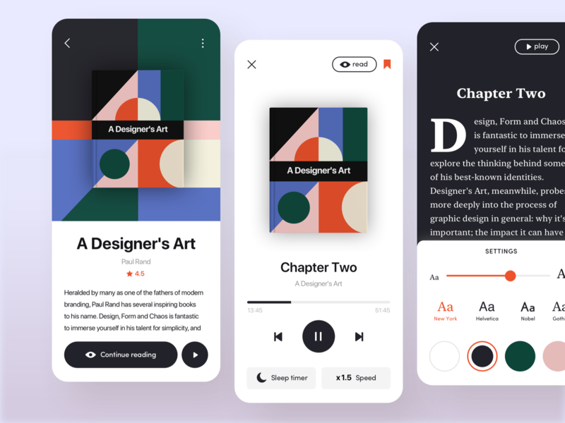 Audiobook / Reading App