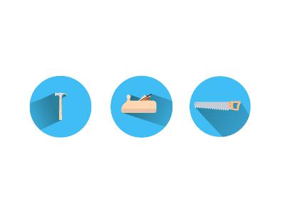 Carpenters Tools Icons