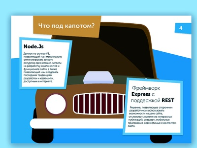 Mediakit page 4 simple web blue app branding car advertising illustration flat typography indesign design vector poligraphy
