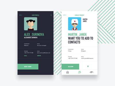 Profiles / Chat app