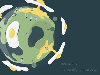 Parallel Universe illustrator fun illustration