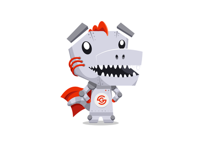 Groktor Mascot design branding flat mascot character mascot design mascot illustrator