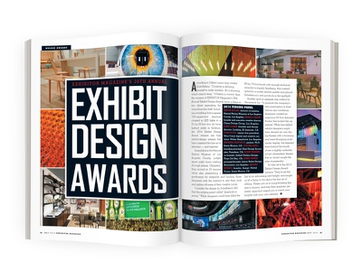 EXHIBITOR Magazine's 2014 Exhibit Design Awards magazine