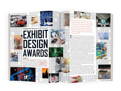 EXHIBITOR Magazine's 2015 Exhibit Design Awards magazine