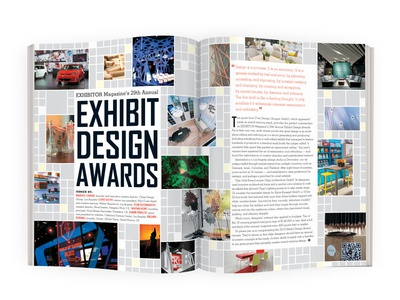EXHIBITOR Magazine's 2015 Exhibit Design Awards magazine