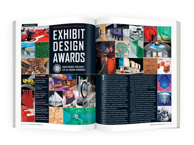 EXHIBITOR Magazine's 2016 Exhibit Design Awards magazine