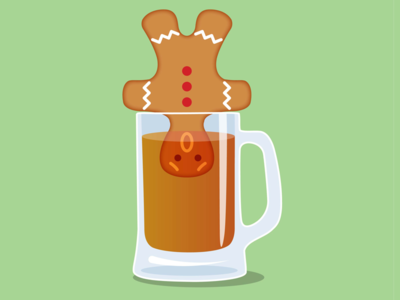 Ginger Beer Man illustration