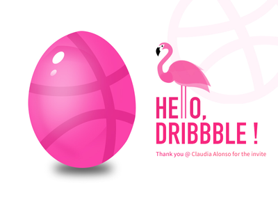 Hello dribbble! hello dribbble first shot invite
