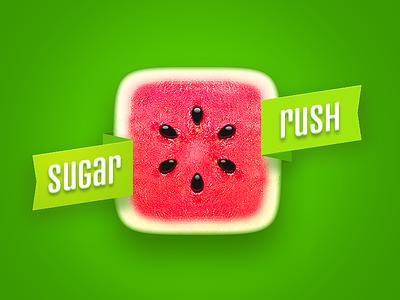 Sugarrush watermelon icon