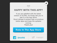 Rate & Share Modal