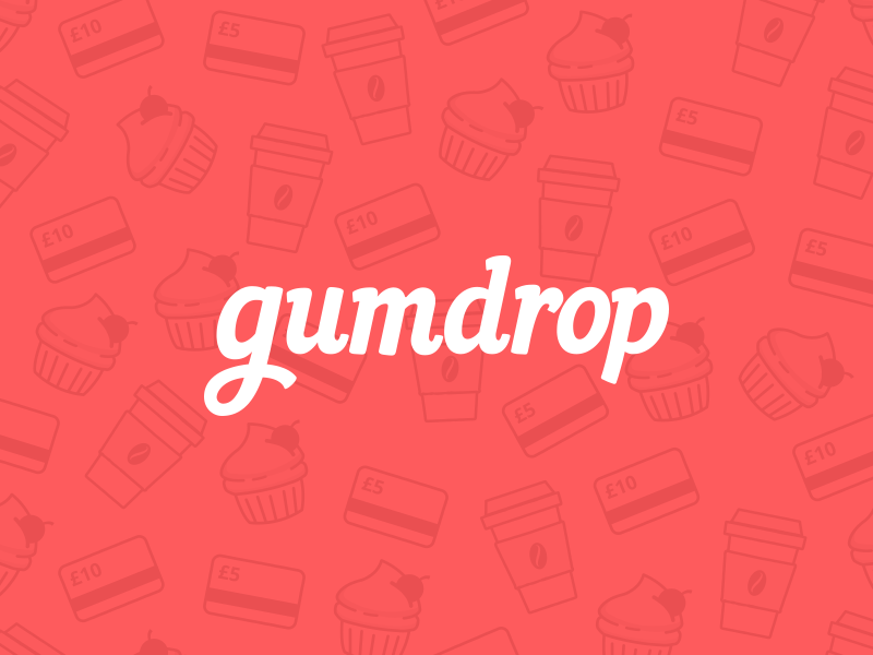 gumdrop logo gumdrop coming soon rewards red branding logo app