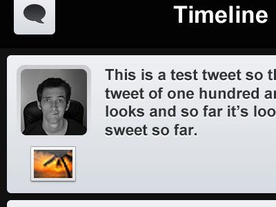 Twiba Timeline twiba twitter iphone retina