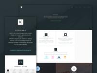 KeirAnsell (.com) portfolio responsive web website