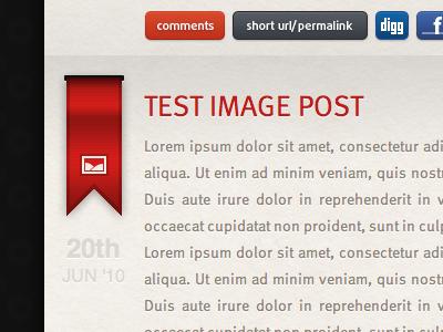Keir Ansell(Dot)Com 3.0 Shot   Blog Post 1 blog content light ribbon buttons