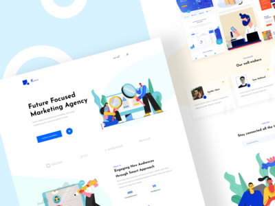 Agency Landing page one page agency landing page template theme landing page agency