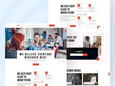 Fintech Website Design figma uidesign uiuxdesign adobexd ui ui design uiux uidesign fintech