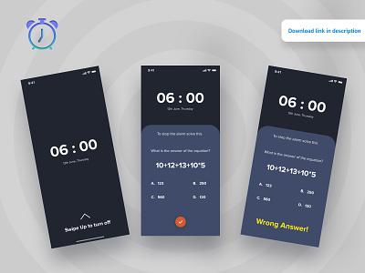 Alarm Clock App android app app development app designer app design app