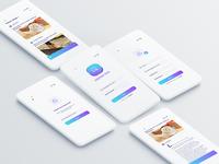 Blog reading app