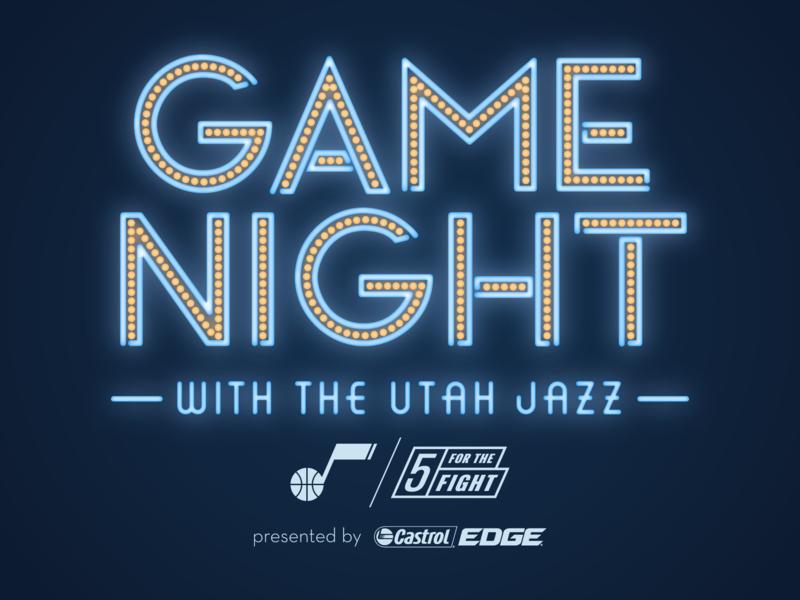 Game Night with the Utah Jazz 2017