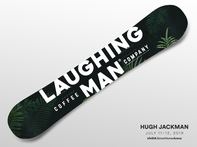 Artist Gifts—Hugh Jackman hugh jackman art snowboard gift design arena